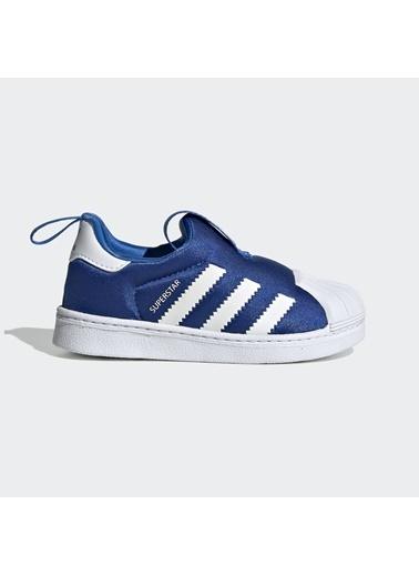 adidas Unisex Çocuk Superstar 360 Spor Ayakkabı EF6628 Mavi